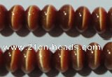 CCT282 15 inches 5*8mm rondelle cats eye beads wholesale