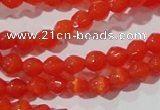 CCT311 15 inches 4mm faceted round cats eye beads wholesale
