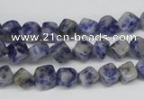 CCU109 15.5 inches 6*6mm cube sodalite gemstone beads wholesale