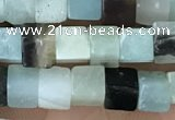 CCU460 15.5 inches 4*4mm cube amazonite beads wholesale