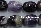 CDA200 15.5 inches 16*20mm nuggets dogtooth amethyst beads