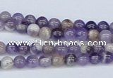 CDA51 15.5 inches 6mm round dogtooth amethyst beads wholesale