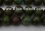 CDB302 15.5 inches 8mm round dragon blood jasper beads wholesale