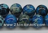 CDI46 16 inches 14mm round dyed imperial jasper beads wholesale