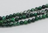 CDI68 16 inches 4mm round dyed imperial jasper beads wholesale