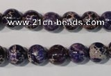 CDI696 15.5 inches 10mm round dyed imperial jasper beads