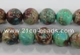 CDI805 15.5 inches 12mm round dyed imperial jasper beads wholesale