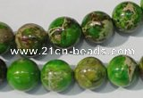 CDI922 15.5 inches 12mm round dyed imperial jasper beads