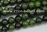 CDJ02 15.5 inches 8mm round Canadian jade beads wholesale