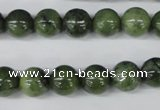 CDJ100 15.5 inches 10mm round Canadian jade beads wholesale