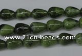 CDJ108 15.5 inches 7*10mm teardrop Canadian jade beads wholesale
