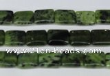 CDJ129 15.5 inches 8*10mm rectangle Canadian jade beads wholesale