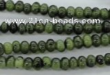 CDJ136 15.5 inches 2*4mm rondelle Canadian jade beads wholesale