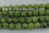 CDJ138 15.5 inches 5mm round Canadian jade beads wholesale