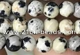 CDM90 15.5 inches 4mm round dalmatian jasper beads wholesale