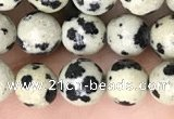 CDM91 15.5 inches 6mm round dalmatian jasper beads wholesale