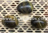 CDN311 30*40mm egg-shaped tiger eye decorations wholesale