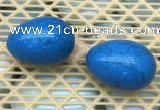 CDN343 35*50mm egg-shaped imitation turquoise decorations wholesale