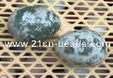 CDN351 35*50mm egg-shaped tree agate decorations wholesale