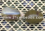 CDN361 35*50mm egg-shaped ocean agate decorations wholesale