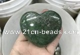 CDN40 40*45mm heart pyrite gemstone decorations
