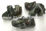 CDN412 25*50*35mm elephant blood jasper decorations wholesale