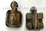 CDN464 38*55*28mm turtle yellow tiger eye decorations wholesale