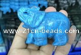 CDN513 33*65*45mm elephant imitation turquoise decorations wholesale