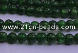 CDP01 15.5 inches 3mm round A- grade diopside gemstone beads
