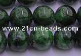CDP53 15.5 inches 9mm round A grade diopside gemstone beads