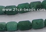 CDQ606 8 inches 6*8mm drum druzy quartz beads wholesale