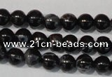 CDT681 15.5 inches 4mm round dyed aqua terra jasper beads