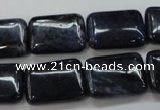 CDU09 15.5 inches 13*18mm rectangle natural blue dumortierite beads