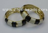 CEB164 19mm width gold plated alloy with enamel bangles wholesale