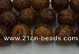 CEJ303 15.5 inches 10mm round elephant skin jasper beads wholesale