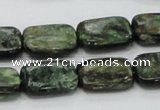 CEM19 15.5 inches 13*18mm rectangle emerald gemstone beads wholesale