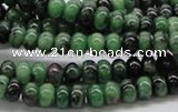 CEP05 15.5 inches 4*6mm rondelle epidote gemstone beads Wholesale