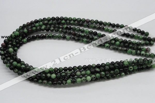 CEP20 15.5 inches 6mm round epidote gemstone beads Wholesale