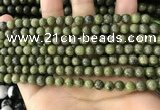 CEP200 15.5 inches 4mm round epidote gemstone beads wholesale