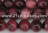 CFE06 15.5 inches 9mm round natural Brazilian fowlerite beads