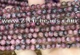 CFE20 15.5 inches 6mm round natural fowlerite beads wholesale