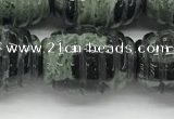 CFG1510 15.5 inches 15*20mm carved rice kambaba jasper beads