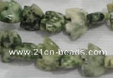 CFG783 15.5 inches 10*15mm carved animal snake dragon jade beads