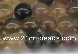 CFL1105 15.5 inches 14mm round yellow fluorite gemstone beads