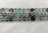 CFL1475 15.5 inches 13mm round AA grade fluorite gemstone beads