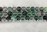 CFL1476 15.5 inches 14mm round AA grade fluorite gemstone beads