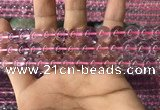 CFL1498 15.5 inches 10mm round purple fluorite gemstone beads