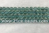 CFL1517 15.5 inches 10mm round blue fluorite gemstone beads