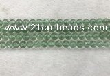 CFL1522 15.5 inches 6mm round green fluorite gemstone beads