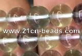 CFL586 15.5 inches 6mm round AAAAA grade fluorite gemstone beads